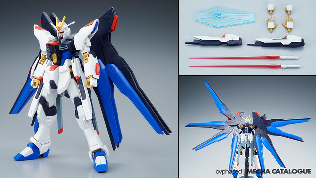 HGCE Strike Freedom Gundam - Straight Build Preview