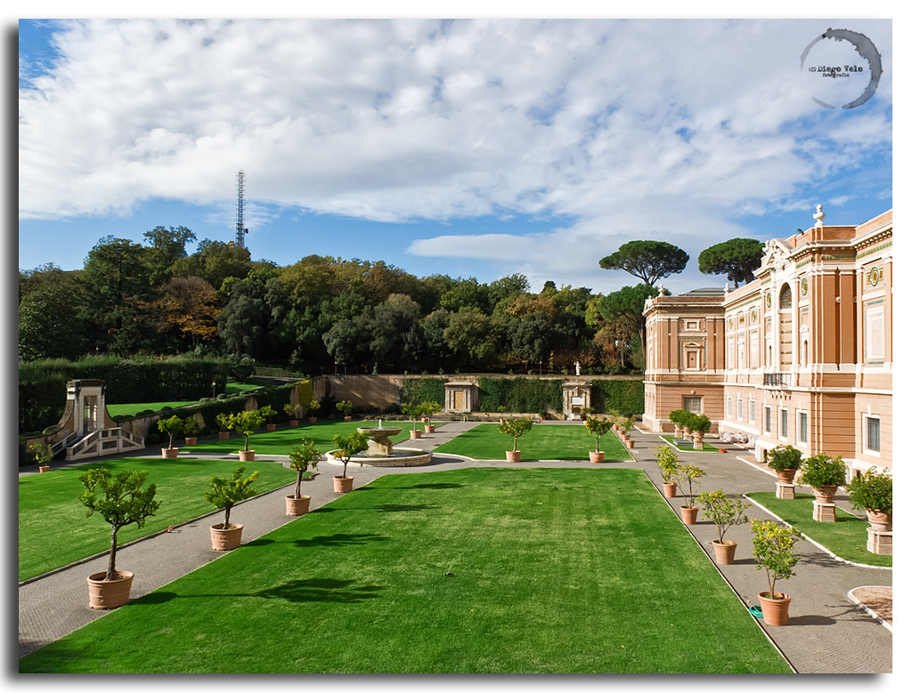Roma jardines vaticanos all rights reserved use for Jardines vaticanos