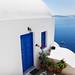 Traditional Oia's greek house