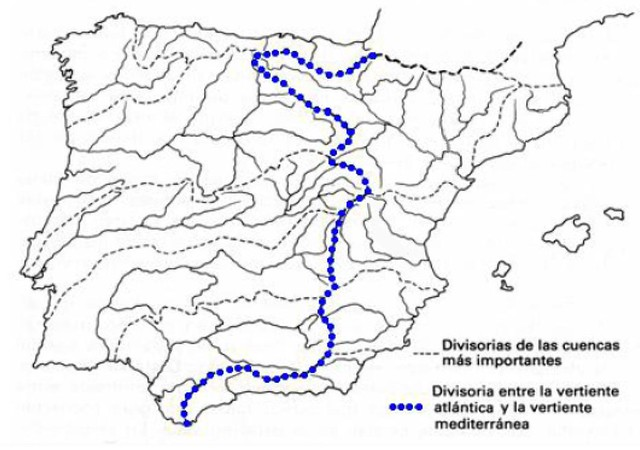 Map Of Spain Rivers.All The Rivers Of Spain Skyscrapercity