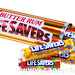 Life Savers Butter Rum tin filled with 7 Rolls