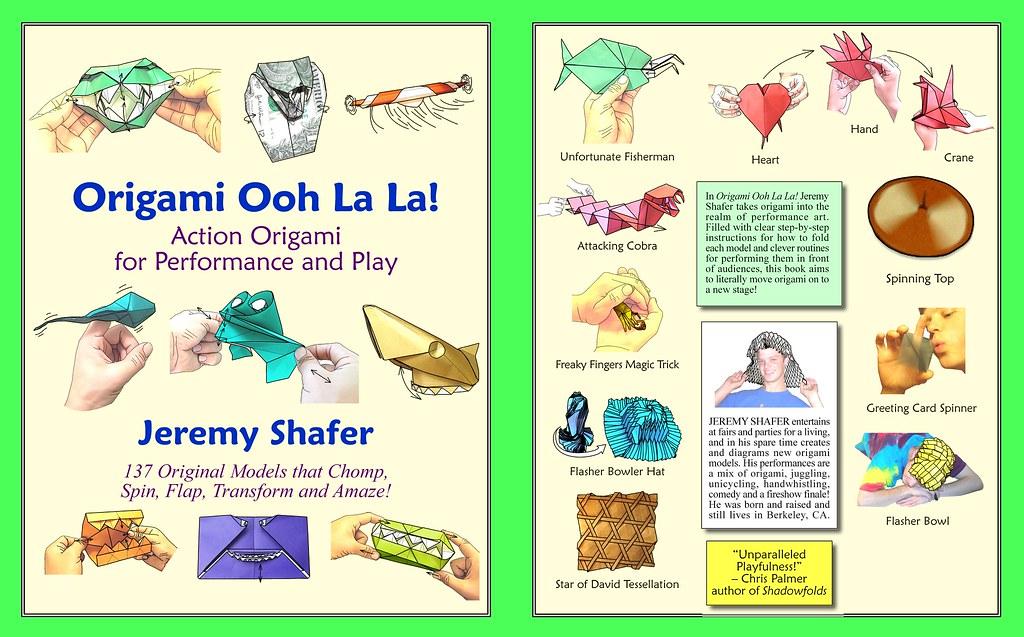 origami ooh la la cover of my new book origami ooh la