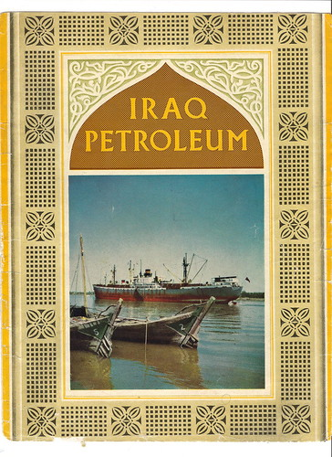Iraq Petroleum Magazine Cover 1956