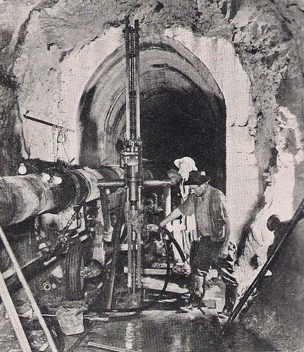 Dokan Dam Under Contraction 1958