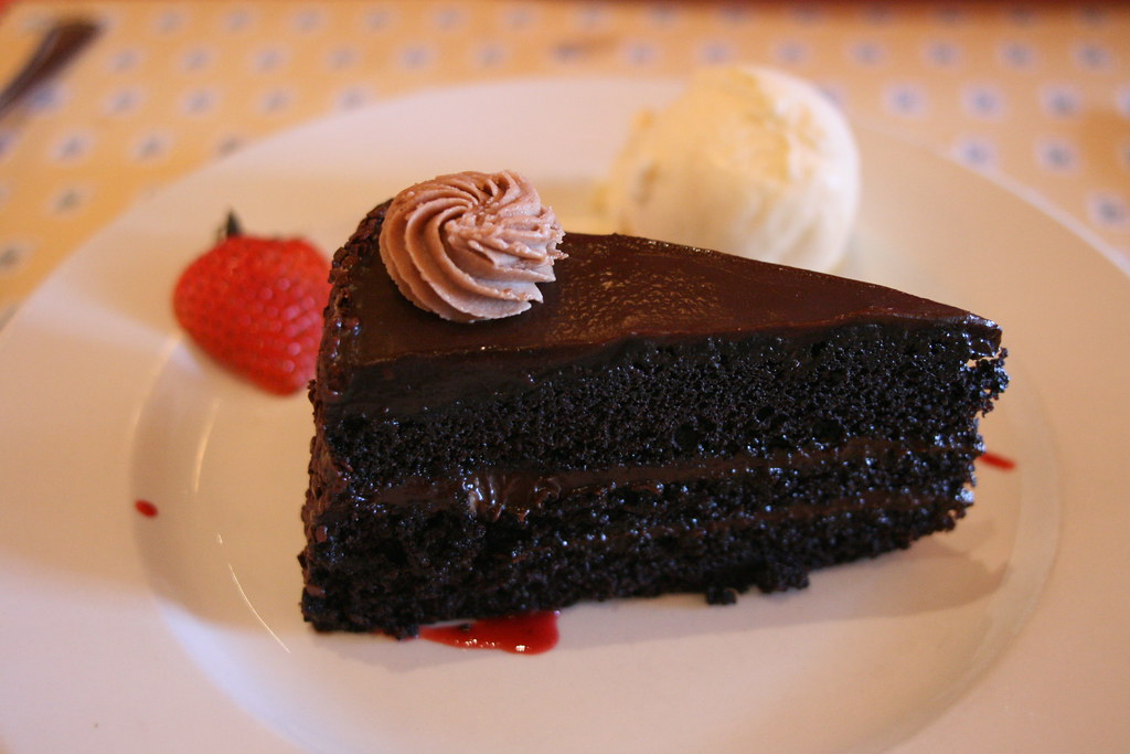 France Chocolate Cake de France Chocolate Cake