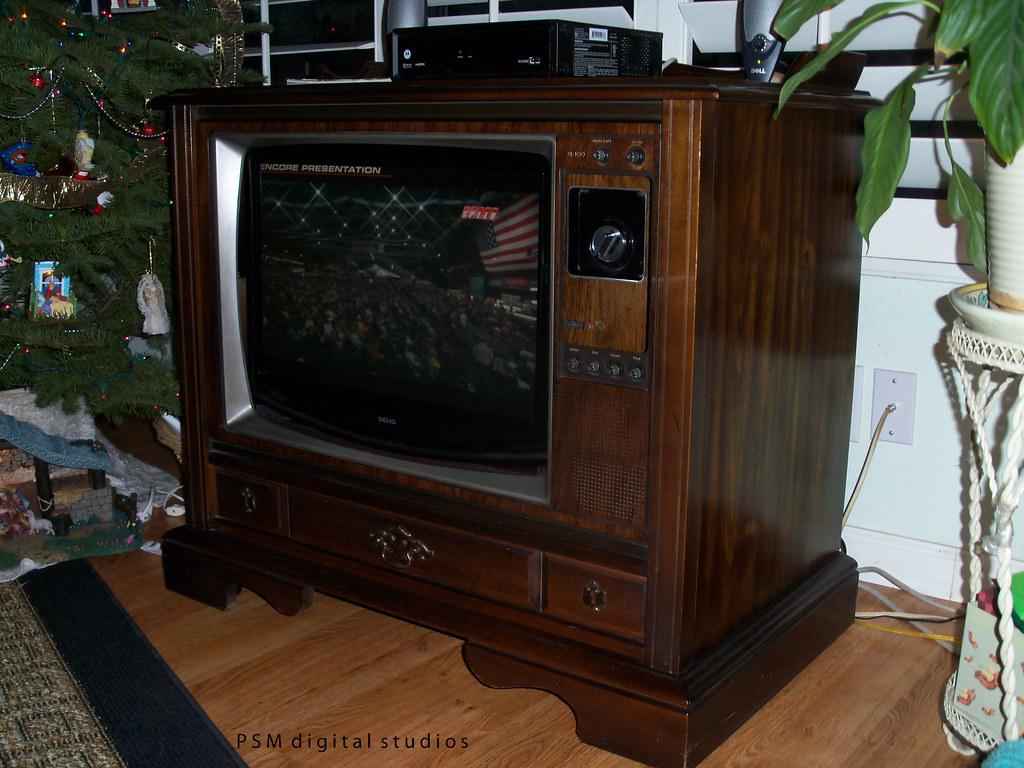 1980 Rca Xl100 25 Inch Color Console Television Reborn