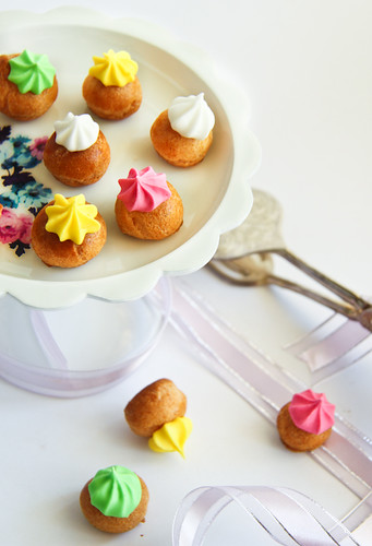 Fancy Gems Mini Choux Pastries | by raspberri cupcakes