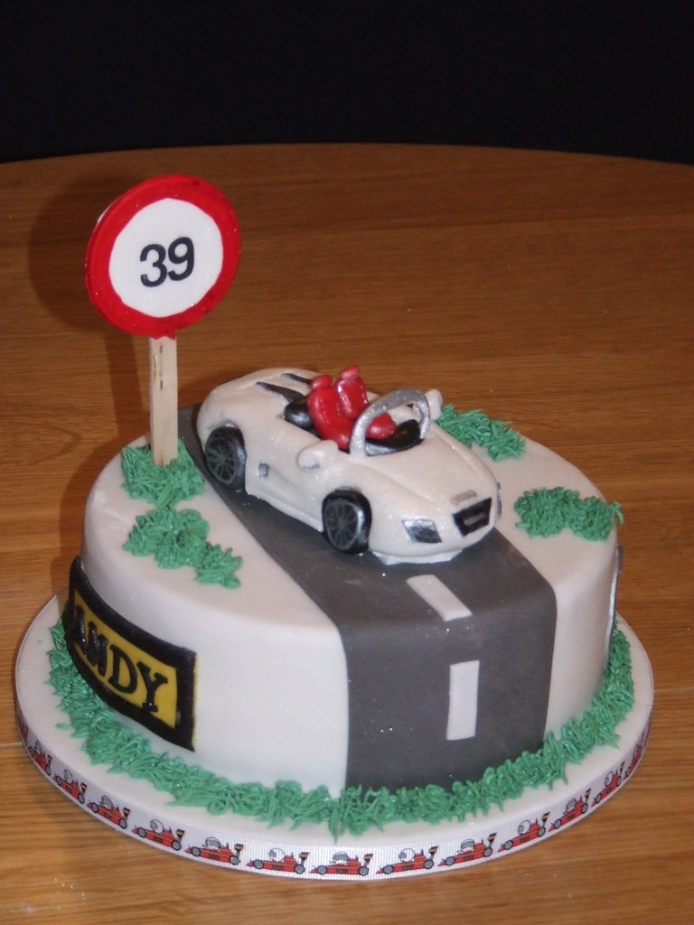 Audi Spyder Car Birthday Cake This Was A Really Specific