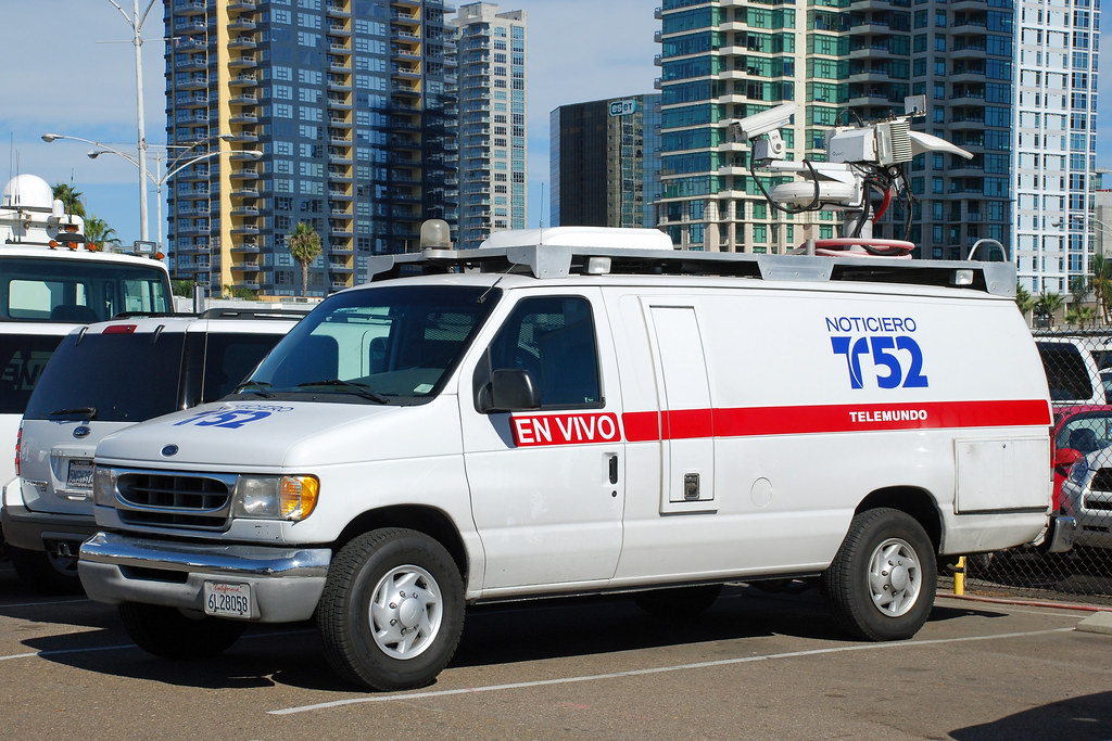 San Diego Ford >> TV News Van | Dozens of news vans from all over Southern Cal… | Flickr