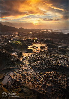 Golden Prehistoric Headlands | by Zack Schnepf