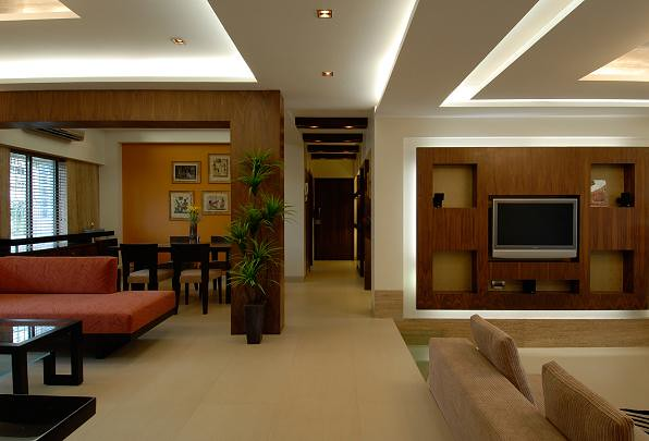 Living room pictures brown by mahesh punjabi associates i - Free interior design ideas for living rooms ...