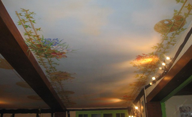 Plafond ile de france 4 sur les 9 palettes sont garnies flickr photo sharing - Plafond heeft de franse ...