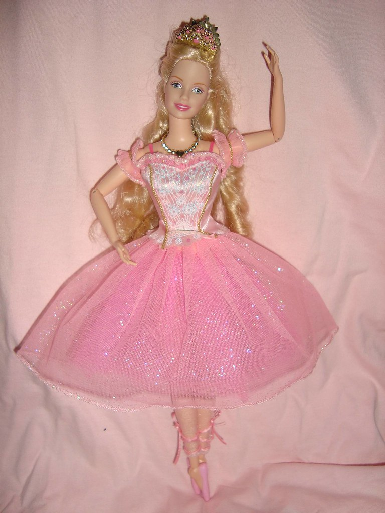 barbie in the nutcracker doll - photo #3