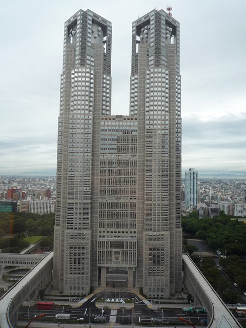 Keio Plaza Hotel Tokyo Location