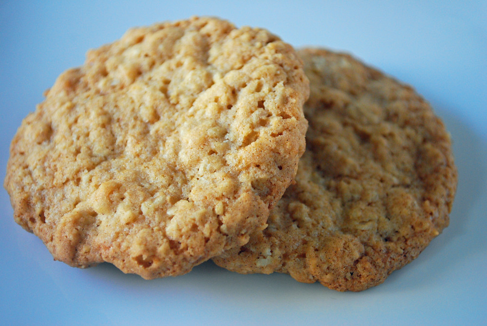 Oatmeal Cookies | Thin, chewy, slightly crispy, oatmeal cook ...