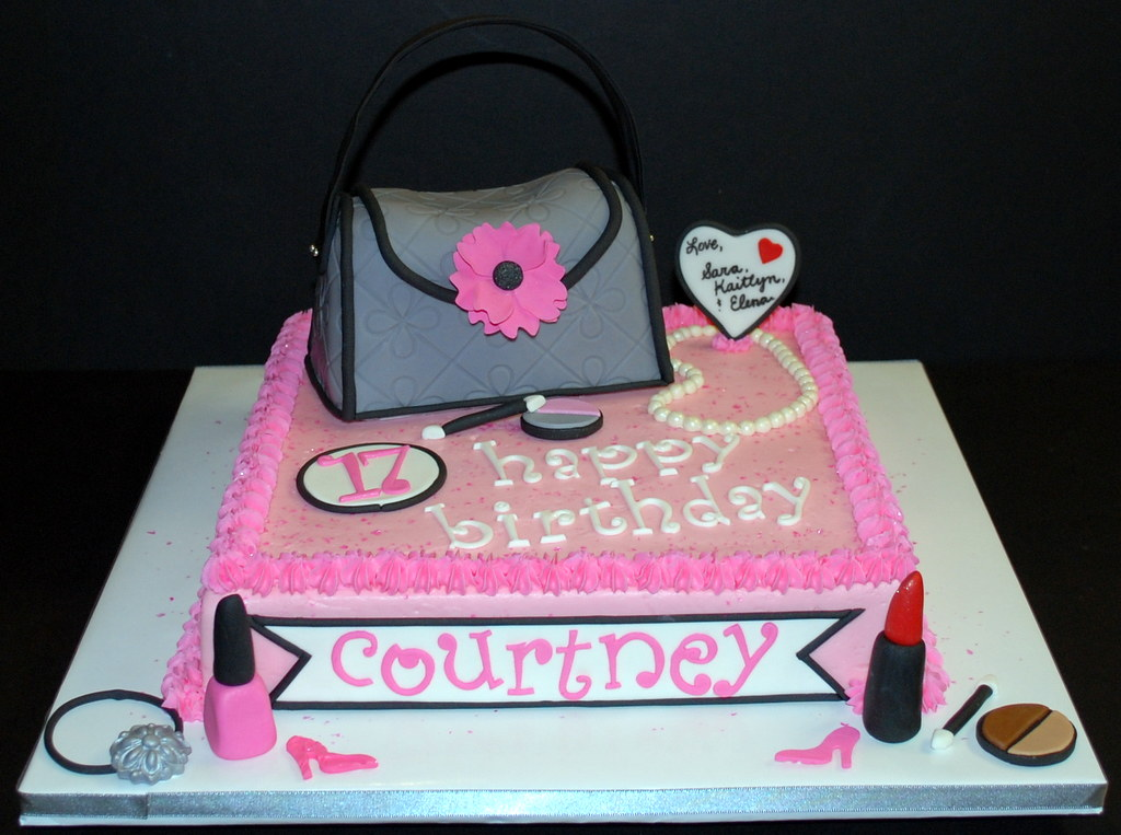 Girly Purse Birthday Cake I M So Pleased With How This