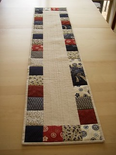 Sanshi table runner | by feebeez.