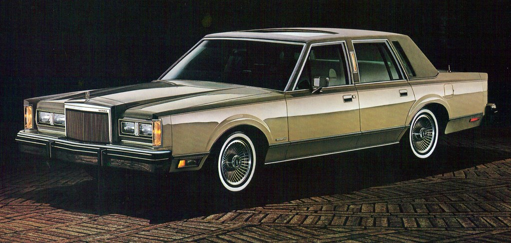 1982 Lincoln Continental Town Car Cartier Designer Series