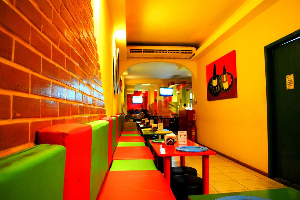 Restaurante Mexicano Simples Entrada De Um Restaurante