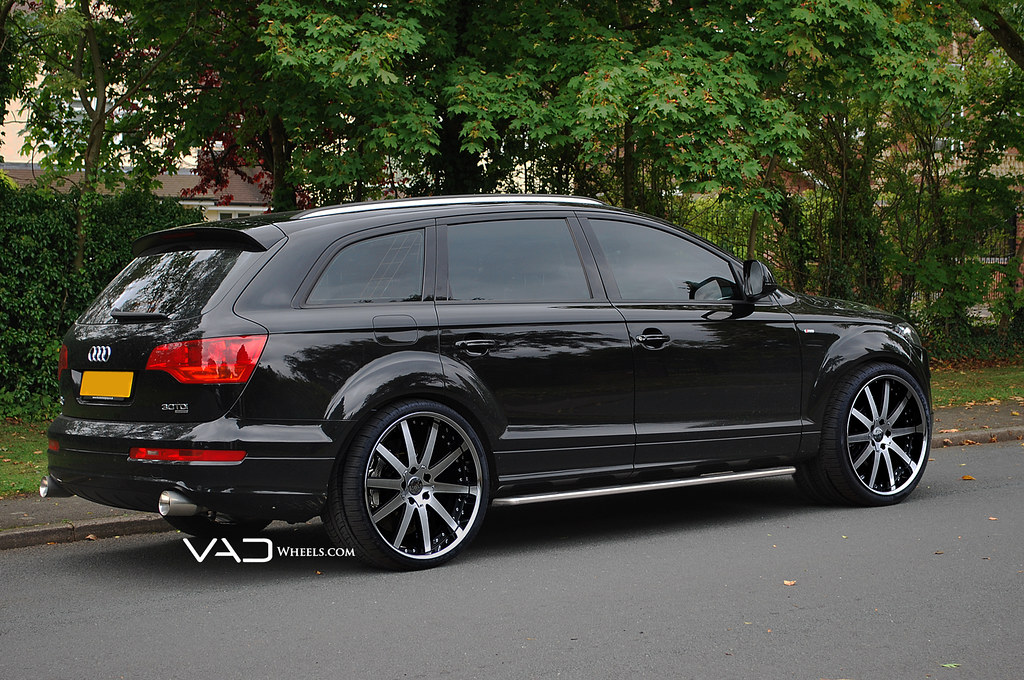 Vad Audi Q7 Fitted With 22 Altstadt F100 Vad Wheels