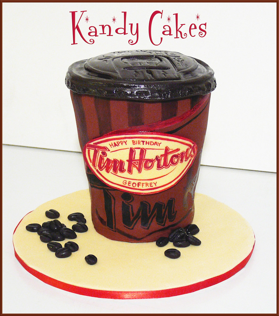 All Sizes Tim Hortons Coffee Cake By Kandy Cakes Flickr Photo