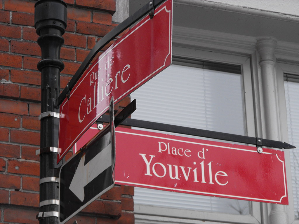 Montreal Street Names Old Montreal Street Name