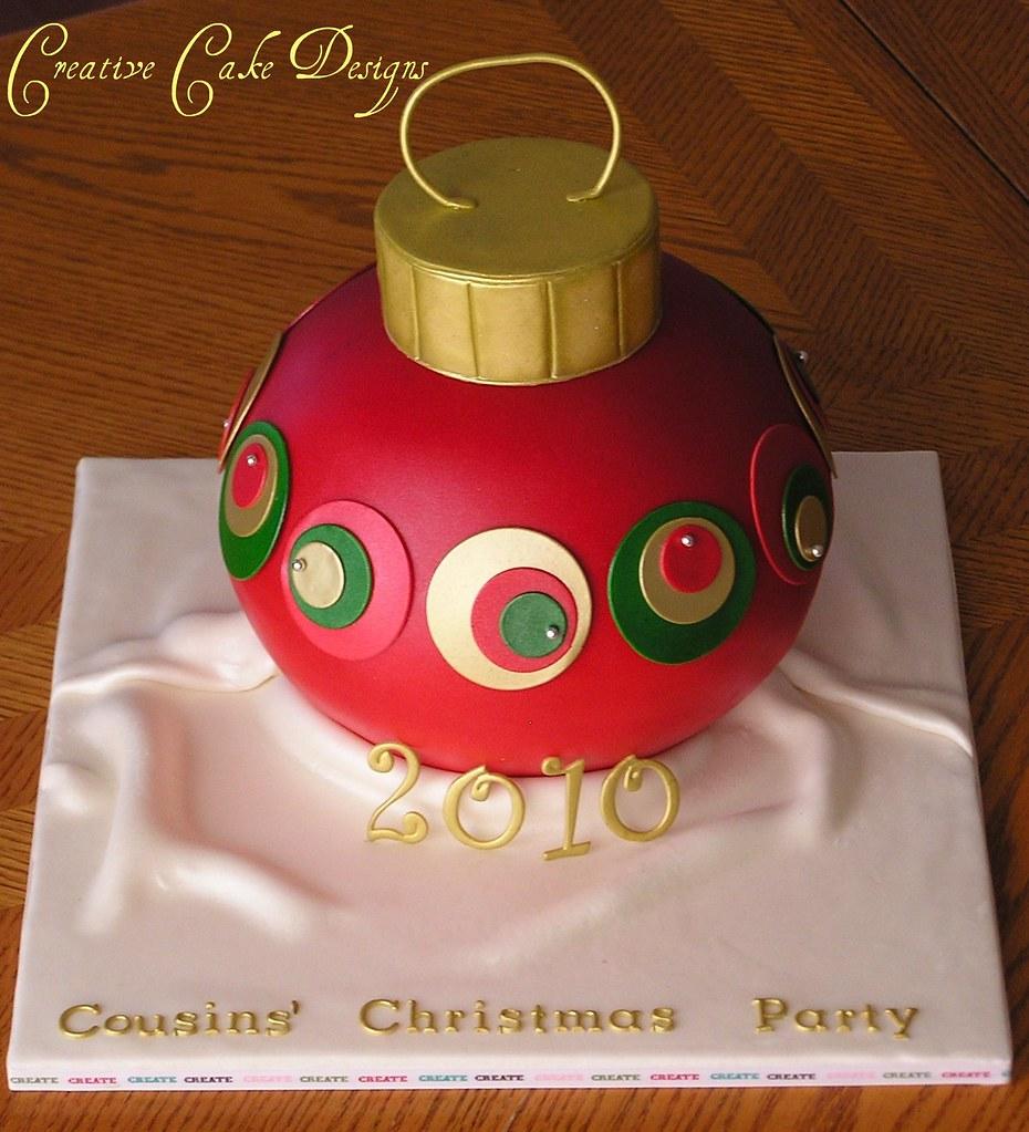 Explored! Christmas Ornament cake | Merry Christmas ...
