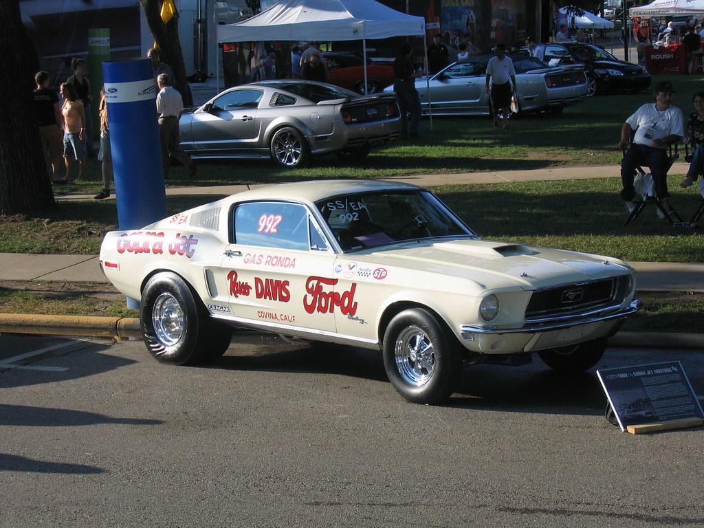 Ford Cobra Jet >> 1968 1/2 Russ Davis Ford Cobra Jet Mustang - Gas Ronda   Flickr