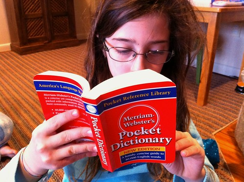 Favorite gift in the Christmas stocking: a pocket dictionary | by Amelia Bellows