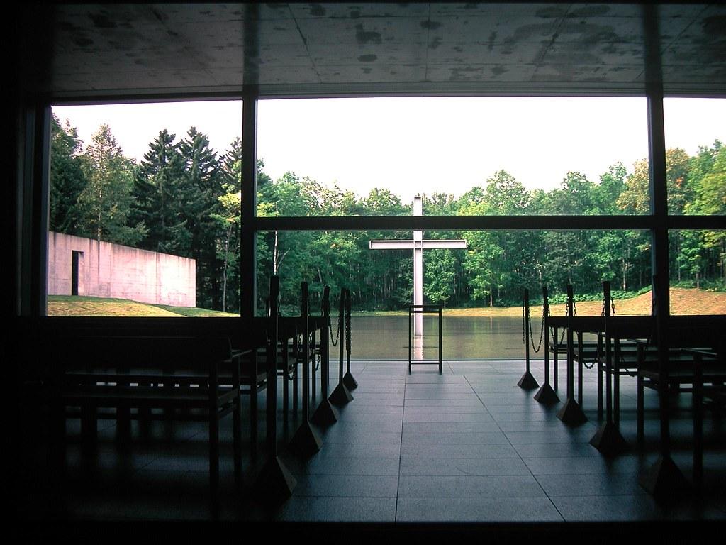 Create 3d Floor Plan Tadao Ando Church Of Water 日本北海道水之教堂 19 Jpg 準建築人手札網站