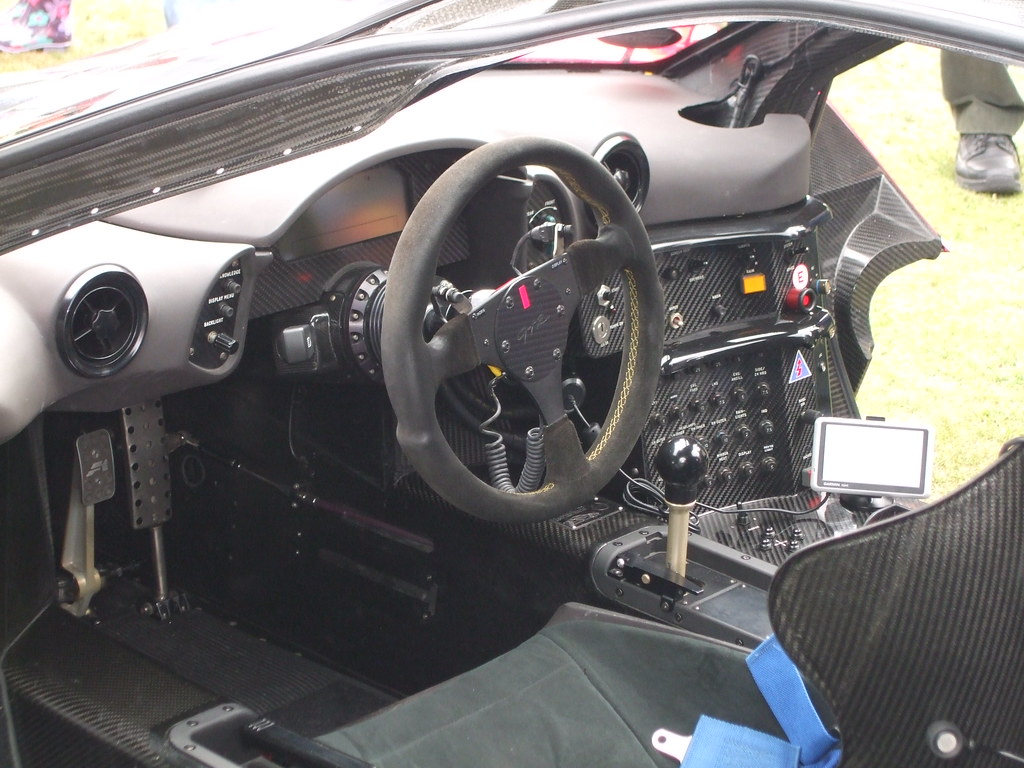 mclaren f1 gtr interior the spartan yet awesome interior o flickr. Black Bedroom Furniture Sets. Home Design Ideas