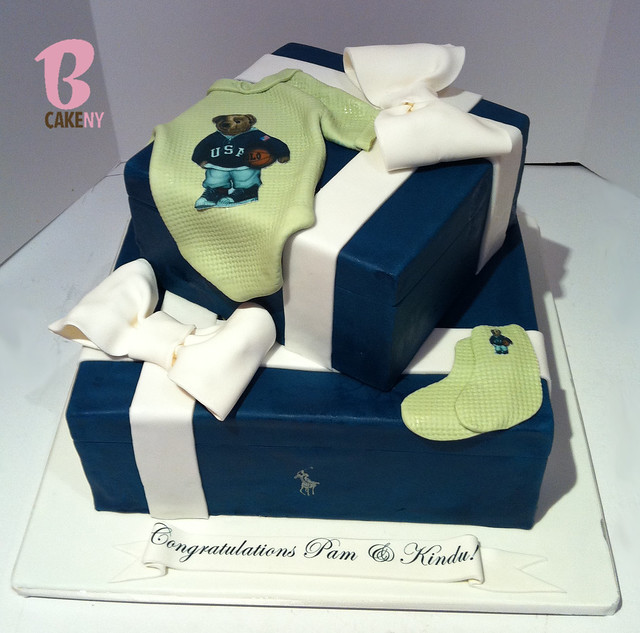 polo baby shower cake flickr photo sharing