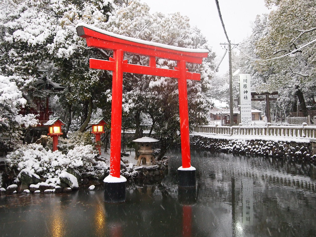 japan in winter i liked this view in a shinto temple. Black Bedroom Furniture Sets. Home Design Ideas
