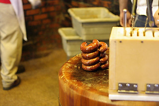 bbq sausage | by David Lebovitz