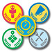Foursquare's Collegiate Badges