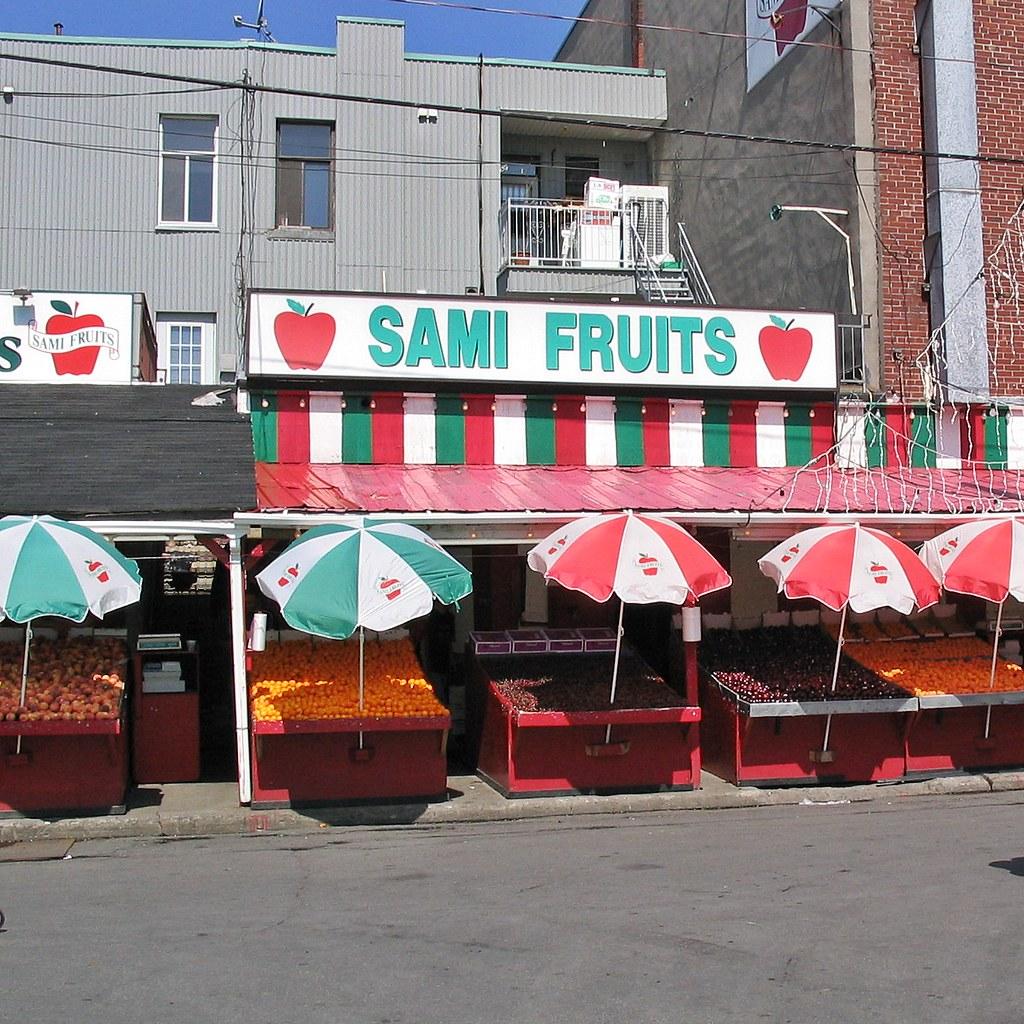 Kitchen Gallery Jean Talon: Sami Fruits - Jean Talon Market