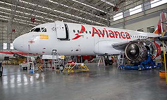 Avianca A320 MRO (Avianca)