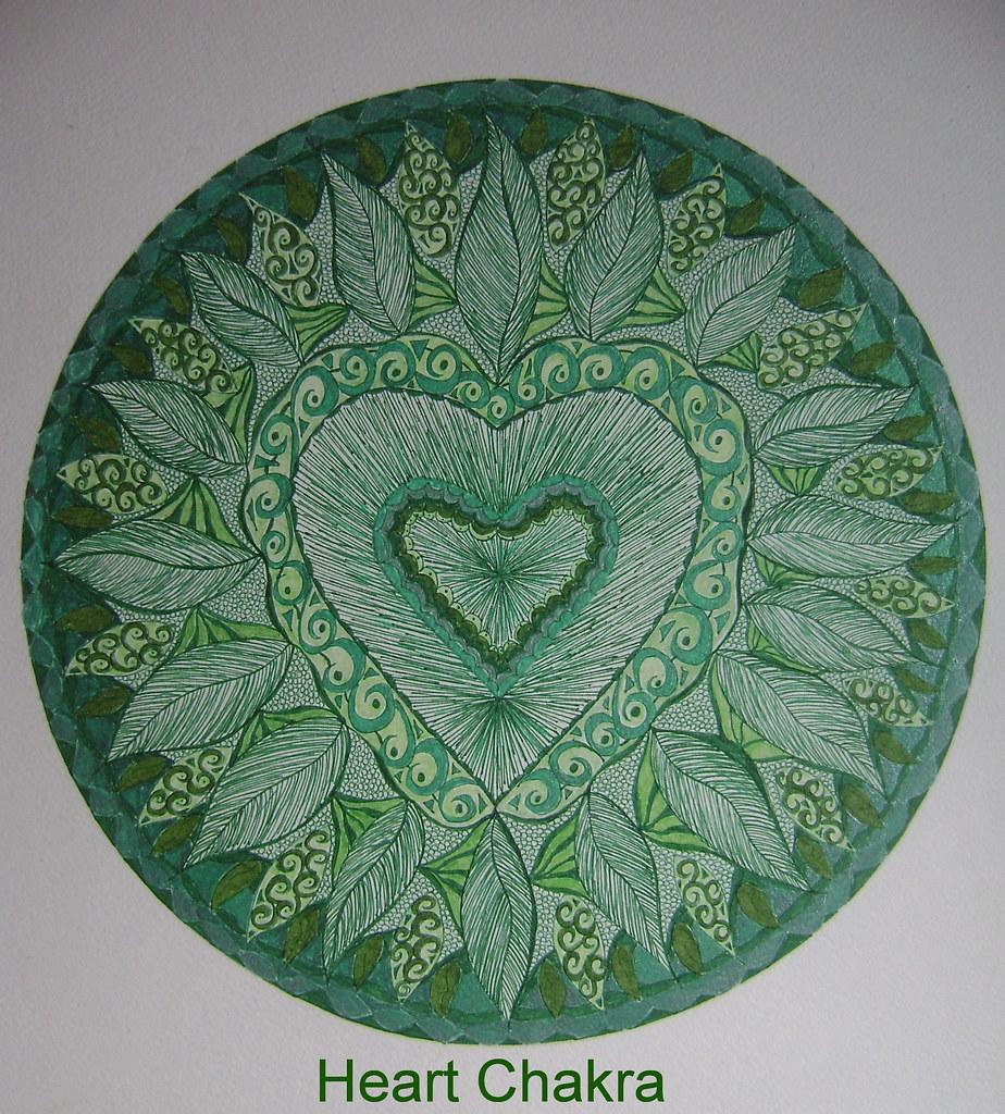 Mandala   Heart Chakra   J1ArtCreations   Flickr