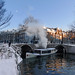 Winter Magic canal cruise in Amsterdam