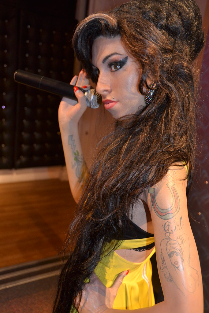 Madame Tussauds - Lond... Amy Winehouse