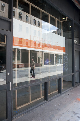 Eyebeam facade - Re:Group signage #3 | by eyebeam