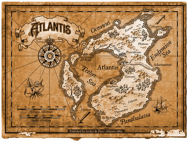 a fictional history of the lost continent of atlantis A greek fisherman returns a lost atlantean princess to her home just in time for it to sink beneath the waves.