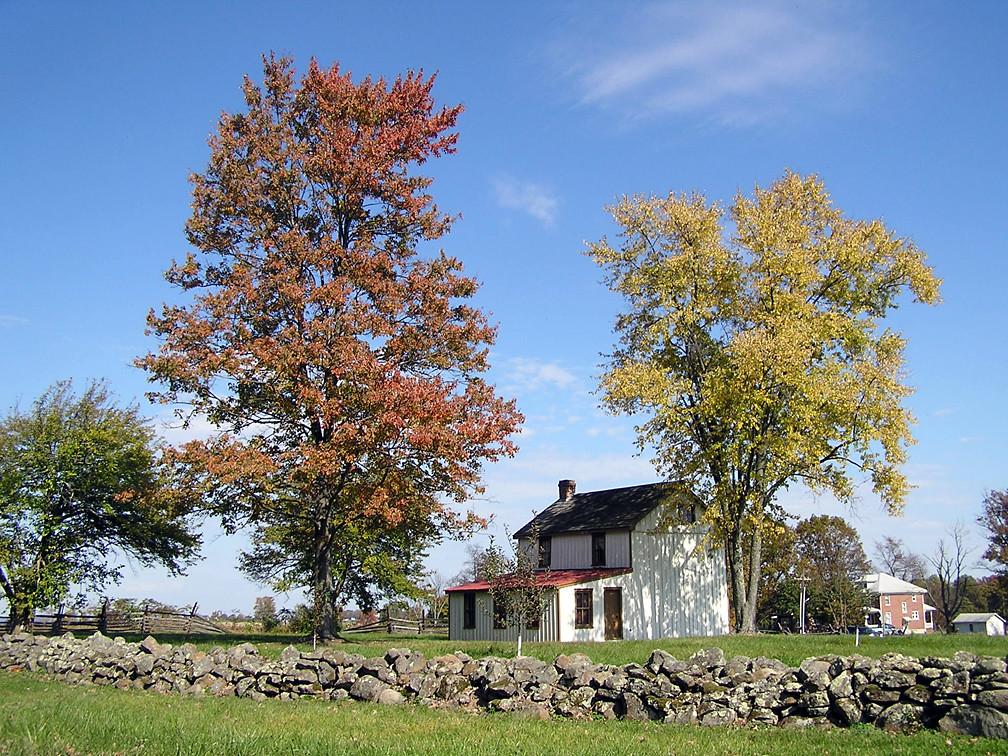 7484 Philip Snyder Farm House Gettysburg From West