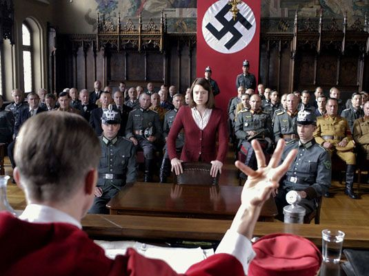 Sophie Scholl On Trial Film Still From Quot Sophie Scholl