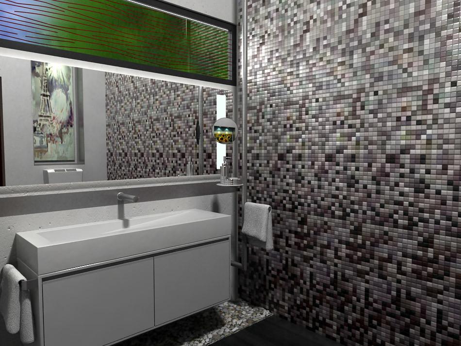 Dise o de ba os bathroom design cubo 3 bathroom design for Diseno banos 3d gratis