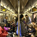 'Riding The Subway To Lower Manhattan' (New York,USA)