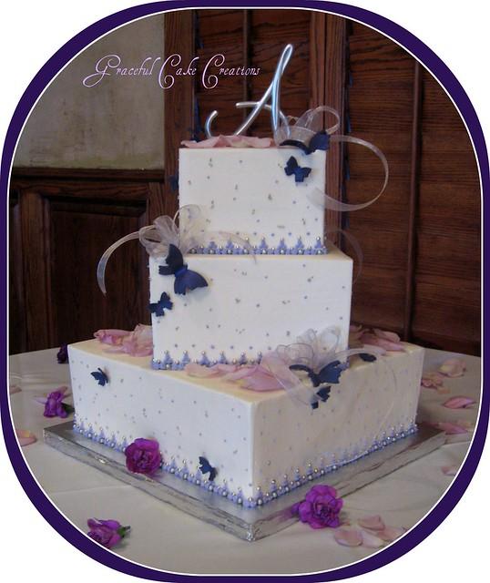 Wedding Cake Butterflies In Vetted