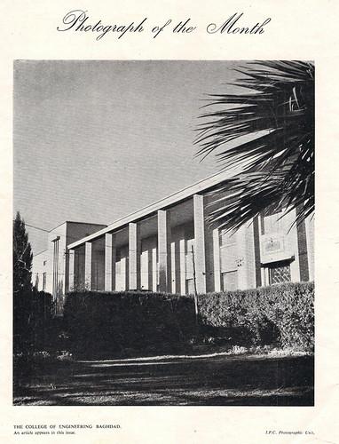 College of Engenering Baghdad 1956