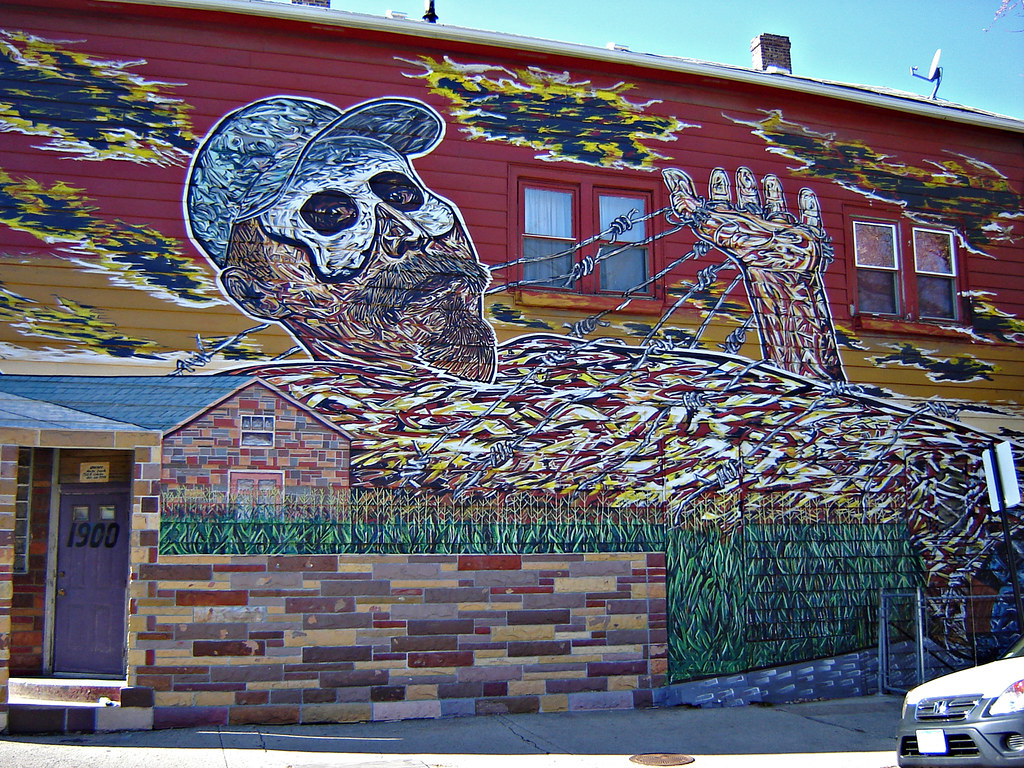 Pilsen mural 4 of 5 photos my favorite mural in all of for Chicago mural group