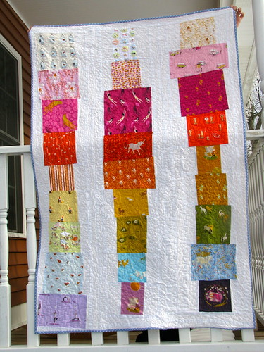 "Heather Ross ""I SPY"" Quilt 